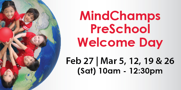 MindChamps PreSchool Welcome Day